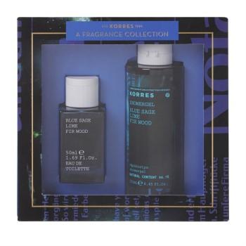 Korres Promo Ανδρικό Άρωμα Blue Sage/Lime/Fir Wood 50ml & ΔΩΡΟ Αφρόλουτρο 250ml