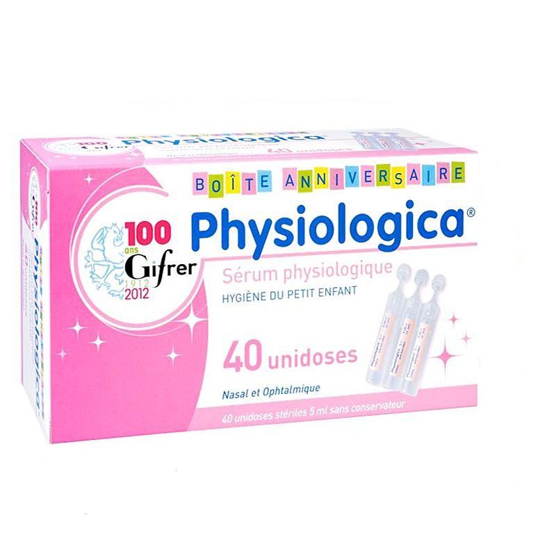 Physiologica Φυσιολογικός Ορός 40x5ml