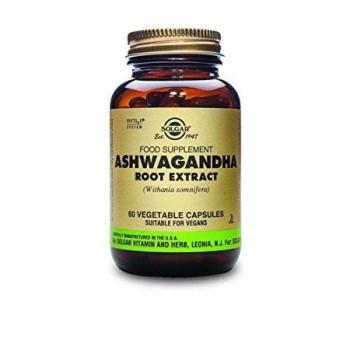 Solgar Ashwagandha Root Extract , 60 Vegetable Capsules