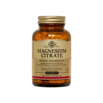 Solgar Magnesium Citrate 200mg , 60 Tablets