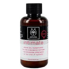 Apivita Mini Intimate Plus, Απαλό Gel Καθαρισμού για την Ευαίσθητη Περιοχή με Tea Tree & Πρόπολη, 75ml