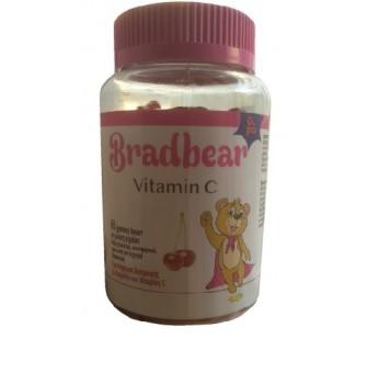 Bradex Bradbear Vitamin C 60tabs