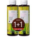 Korres Αφρόλουτρο Αγγούρι Bamboo showergel cucumber bamboo 250ml 1+1 ΔΩΡΟ