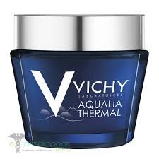 Vichy AQUALIA THERMAL Spa Night Κρέμα & Μάσκα Νυχτός για κάθε ηλικία,75 ml