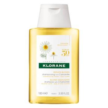 Klorane Chamomile Shampoo Σαμπουάν με εκχύλισμα Χαμομηλιού 100ml
