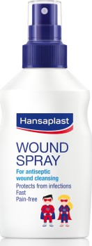 Hansaplast Παιδικό Spray Καθαρισμού Πληγών 100ml