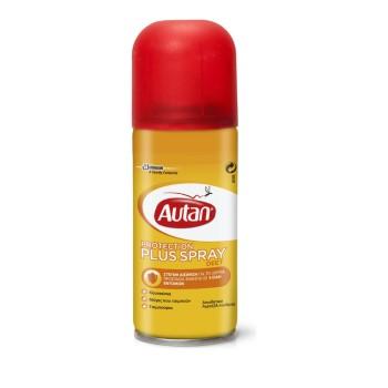 Autan Protection Plus Spray, Εντομοαπωθητικό Σπρέι 100ml