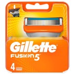 Gillette Fusion 5 Ανταλλακτικά Ξυριστικής Μηχανής 4τμχ