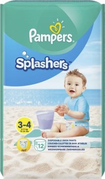 Pampers Splashers Nr 3 - 4 x 12