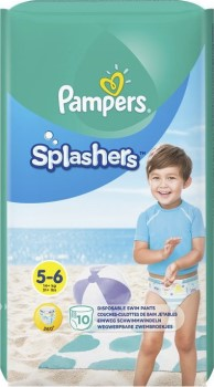 Pampers Splashers Nr  5 - 6 x 10