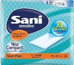 Sani Sensitive Maxi Plus 90 cm x 60 cm 15τμχ