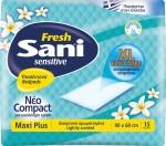 Sani Sensitive Maxi Plus Fresh 82 x 60 cm 15τμχ