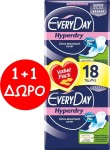 Every Day Hyperdry Ultra Plus Super 2 x 18 τμχ