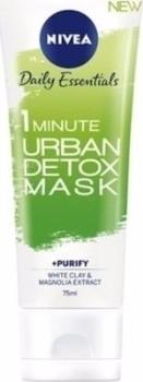Nivea 1 Minute Urban Detox Mask & Purify White Clay & Magnolia Extract 75ml