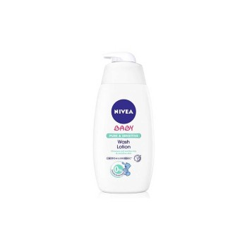 Nivea Baby Pure & Natural Αφροσάπουνο Για Μαλλιά & Σώμα 500ml