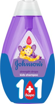 Johnson & Johnson Kids Strength Drops Shampoo 2x500ml