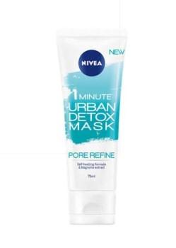 Nivea 1 Minute Pore Refine Mask – Μάσκα Σύσφιξης Πόρων 75ml