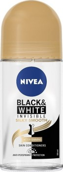 Nivea Deo Black & White Silky Smooth Roll-On Γυναικείο 50ml