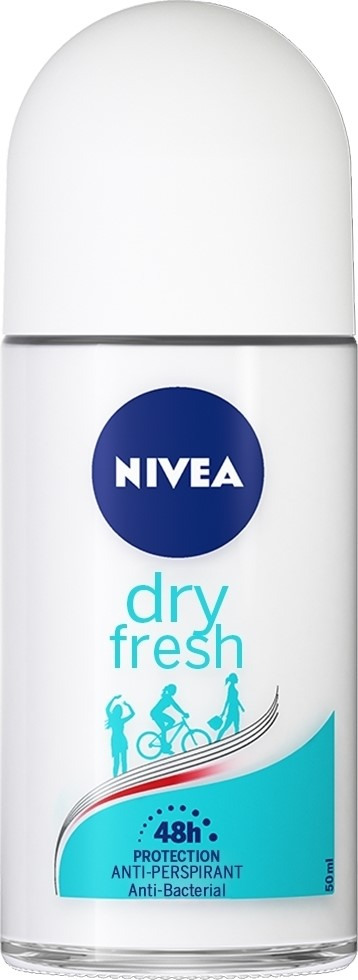 Nivea Deo Dry Fresh Roll-on Γυναικείο 50ml
