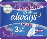 Always Platinum Ultra Night Με Φτερά 6 τεμάχια size 3