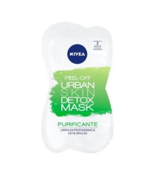 Nivea Urban Skin Detox Μάσκα Αποτοξίνωσης Peel Off 10ml