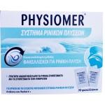 Physiomer Σύστημα Ρινικών Πλύσεων για Γρήγορη Ανακούφιση Από τα Ρινικά Συμπτώματα 30φακελίσκοι