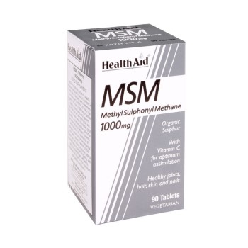 Health Aid MSM 1000MG 90tabs