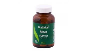 Health Aid Maca 500mg  60tabs
