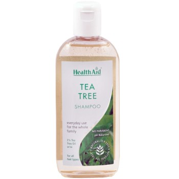 Health Aid Tea Tree Shampoo Προληπτικό Σαμπουάν Για Ψείρες 250ml