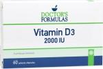 Doctor's Formulas Vitamin D3 2000iu 60 Κάψουλες