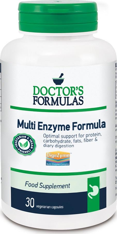 Doctor's Formulas Multi Enzyme Formula 30 κάψουλες