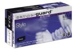 Γάντια Νιτριλίου Μαύρα Χωρίς πούδρα Nitrile Black SEMPERGUARD x100  Medium
