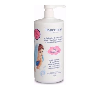 Labo Thermale Med Baby Shampoo & Bath 1000ml