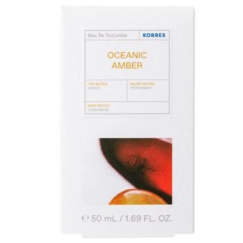 Korres Eau De Toilette Oceanic Amber 50ml