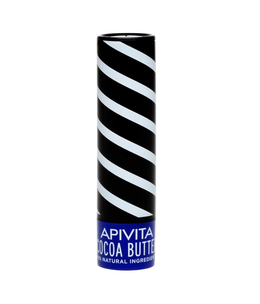 Apivita LipCare Cocoa Butter 4.4gr με βούτυρο κακάο
