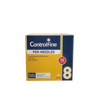Βελόνες Ινσουλίνης ControlFine Pen Needles 8mm 31G 50 τεμάχια