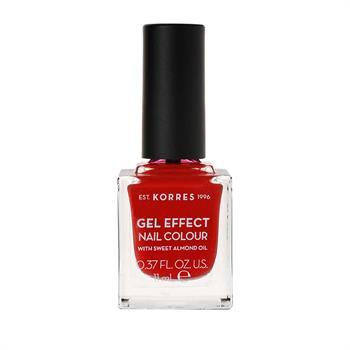 ΚΟΡΡΕΣ Βερνίκι Νυχιών Gel Effect Nail Color 53 Royal Red 11ml