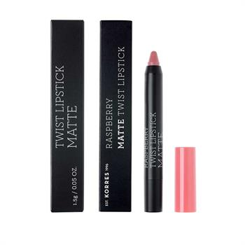 ΚΟΡΡΕΣ Raspberry Matte Twist Lipstick Dusty Pink 1,5g