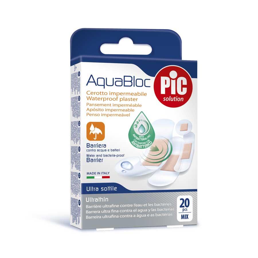 PiC Aquabloc Strips - Mix 4 μεγεθών (20 τμχ)