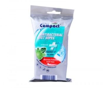 Ultra Compact Αντιβακτηριδιακά μαντηλάκια 15τμχ