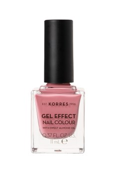 Korres Gel Effect Nail Colour 21 Bubblegum pop 11ml