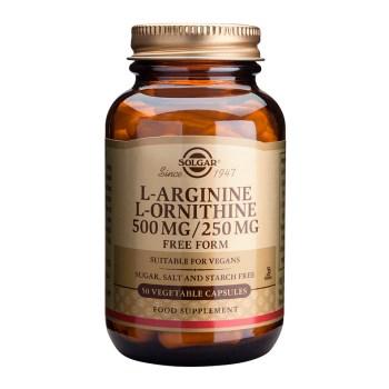 Solgar L-Arginine - L-Ornithine Veg.Caps 50s