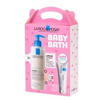 La Poche Posay Promo Baby Lipikar Syndet AP+ 400ml & Cicaplast Baume B5 15ml