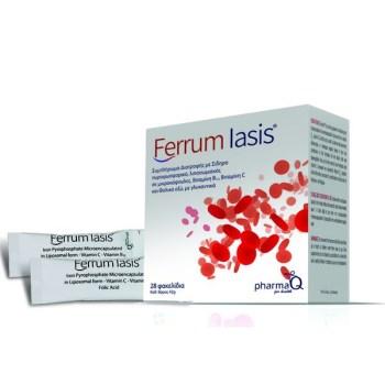 PharmaQ Ferrum Iasis (28sachets) - Λιποσωμιακός Σίδηρος