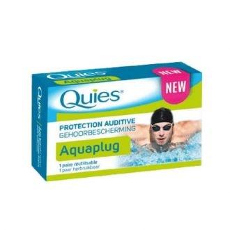 Pharmaq Quies Aquaplug Earplugs Ωτοασπίδες για κολύμπι από Σιλικόνη με 3 δακτύλιους, 1 Ζεύγος