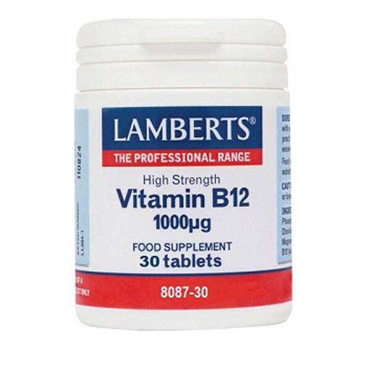Lamberts Vitamin B12 1000μg 30 tablets