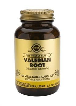 Solgar Valerian Root 100 φυτικές κάψουλες