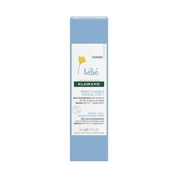 Klorane Eryteal 3 in 1 Diaper Change Spray 75ml