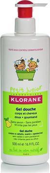 Klorane Petit Junior Gel Douche Corps et Cheveux à la Poire 500ml