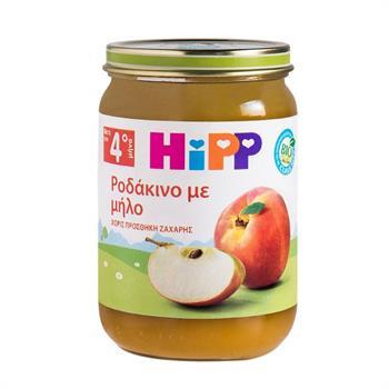 Hipp Ροδάκινο με Μήλο 190gr